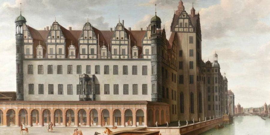 Berliner Palace ca. 1690, unknown artist © Stadtmuseum Berlin | Reproduktion: Oliver Ziebe