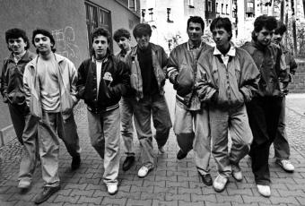 "Photo of street gang ""36 Boys"""