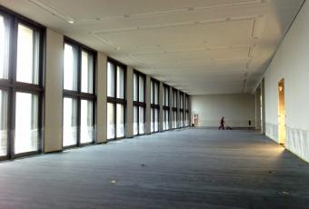 Inside view of the Humboldt Forum