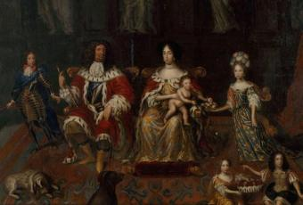 The Great Elector Frederick William and his family, ca. 1678 © Stadtmuseum Berlin